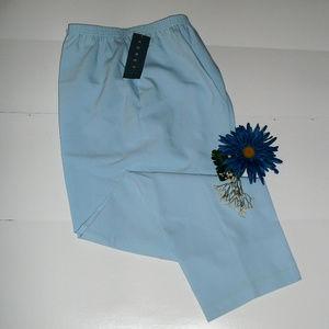 Koret Sz 16 Cornflower Blue Pull On Pants NWT